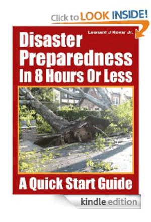 Disaster Preparedness In 8 Hours Or Less Book